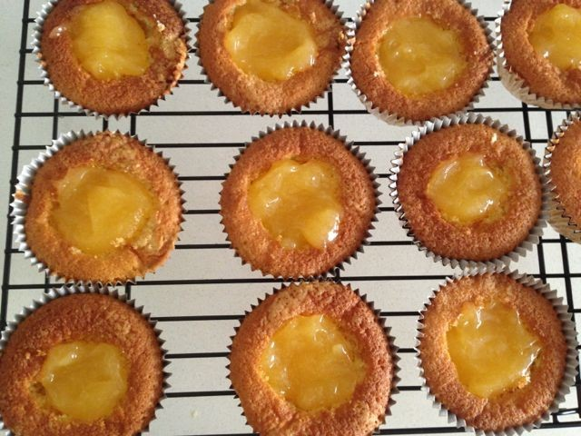 A True Love of Mine: Lemon Meringue Cupcakes